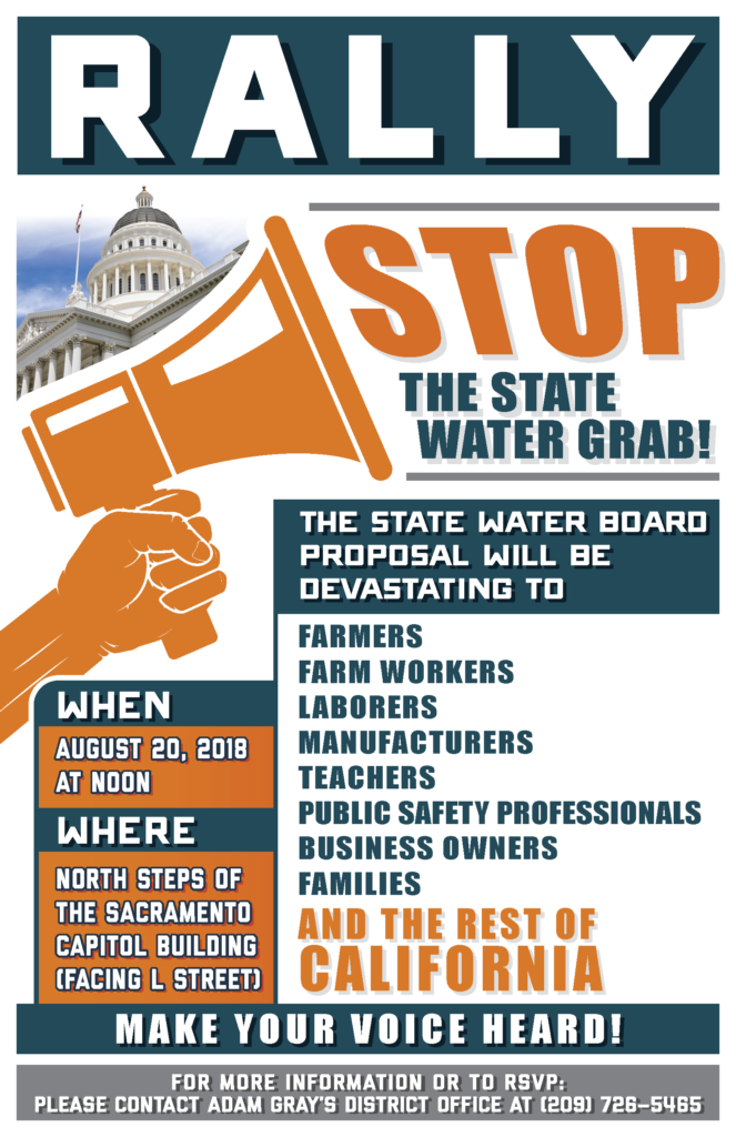 Water Rally Flyer Image